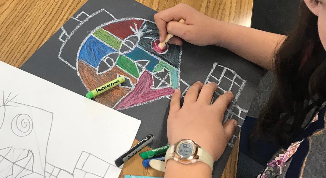 Summer Art Camp 2020. Photos provided by San Benito County Arts Council.