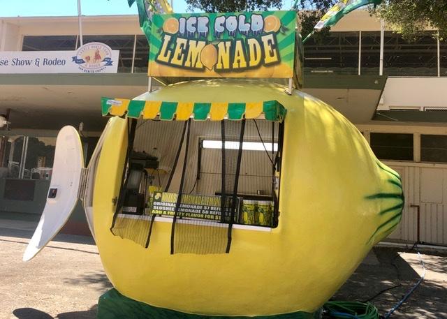 Lemonade stand. Photo courtesy of Audrey Johnson.