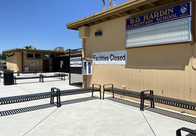 R.O. Hardin Elementary School. Photo by Patty Lopez Day.