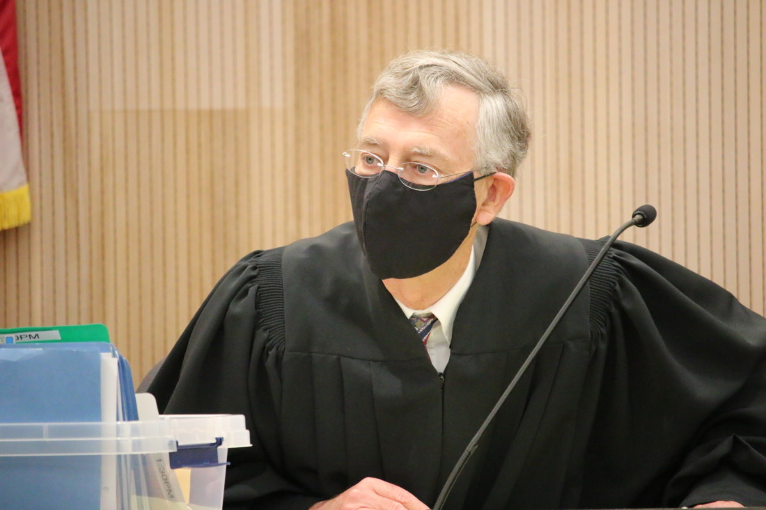 Superior Court Judge Steven Sanders said Choi's participation in Yoon Ji's murder was substantial. Photo by John Chadwell.