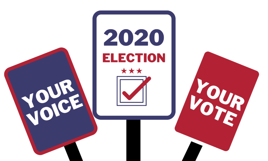 your voice your vote graphic