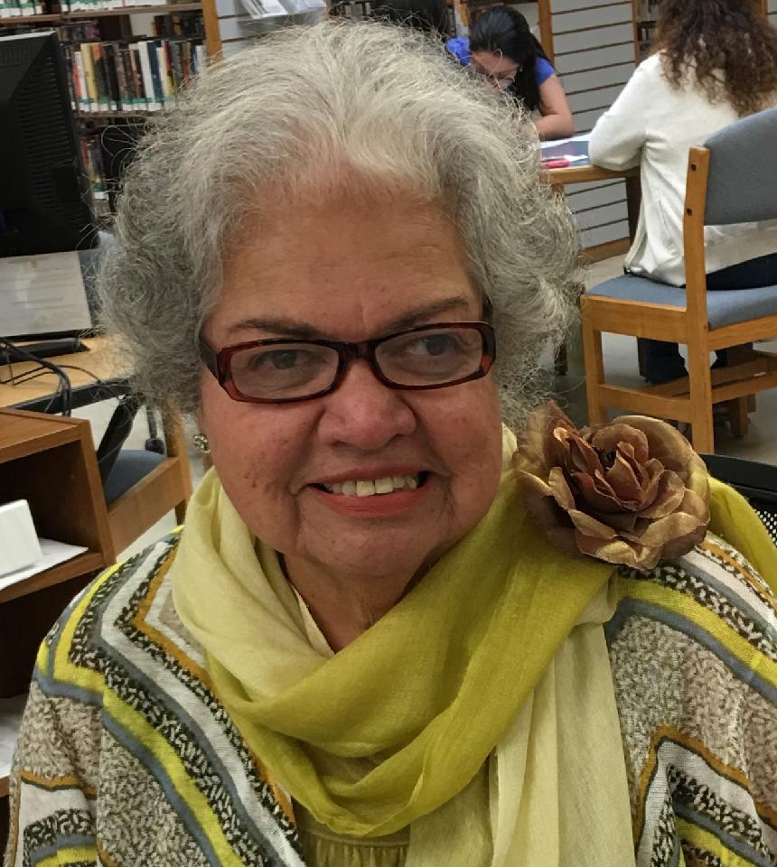 San Benito County Librarian Nora Conte. Photo courtesy of Erin Baxter.