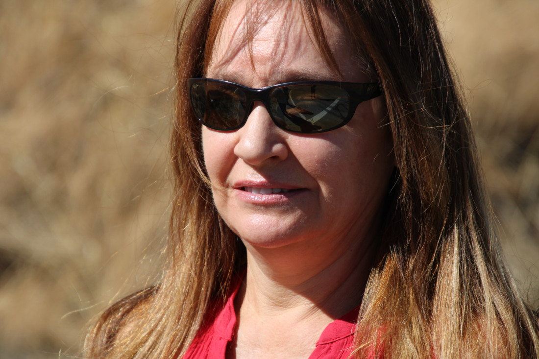 Barbara Hearne accused Caltrans of placating those who spoke out in opposition to the continued work on the curve.