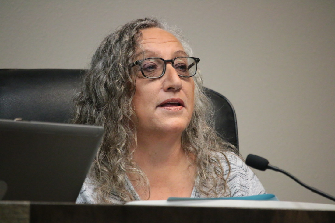 Councilwoman Carol Lenoir said negotiations for a new high school would be between the school district and the developer, not Hollister. File photo by John Chadwell.