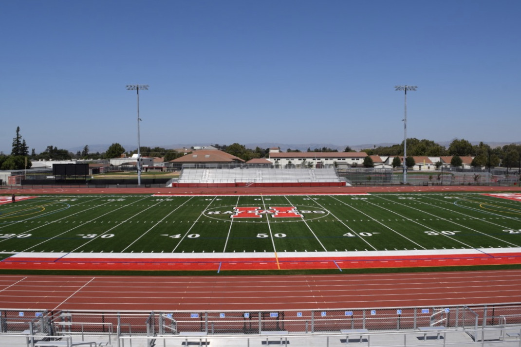 Stadium at San Benito High School. Photo by Julia Hicks.