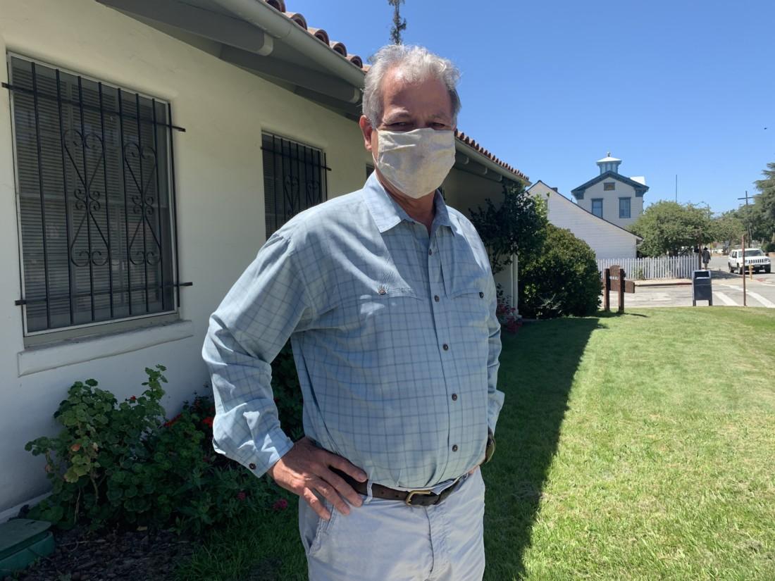 San Juan Bautista City Manager Don Reynolds. Photo by Robert Eliason.