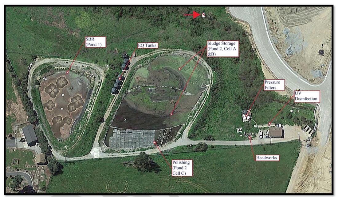 San Juan Bautista Waste Treatment Plant. Image from Draft Report.