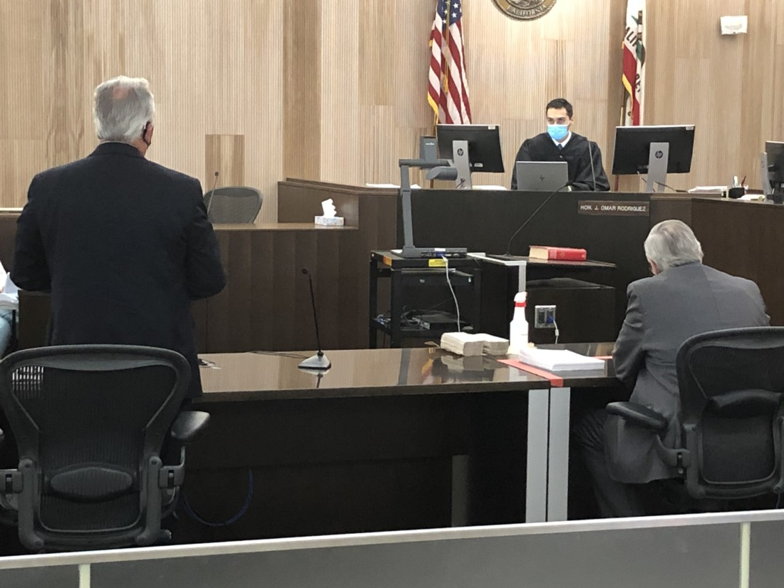 Superior Court Judge Omar Rodriguez said at the Aug. 5 hearing that the case between the city of Hollister and San Benito Foods was not about the community, but about harm done to the cannery. He did not think there was irreparable harm done. Photo by John Chadwell.
