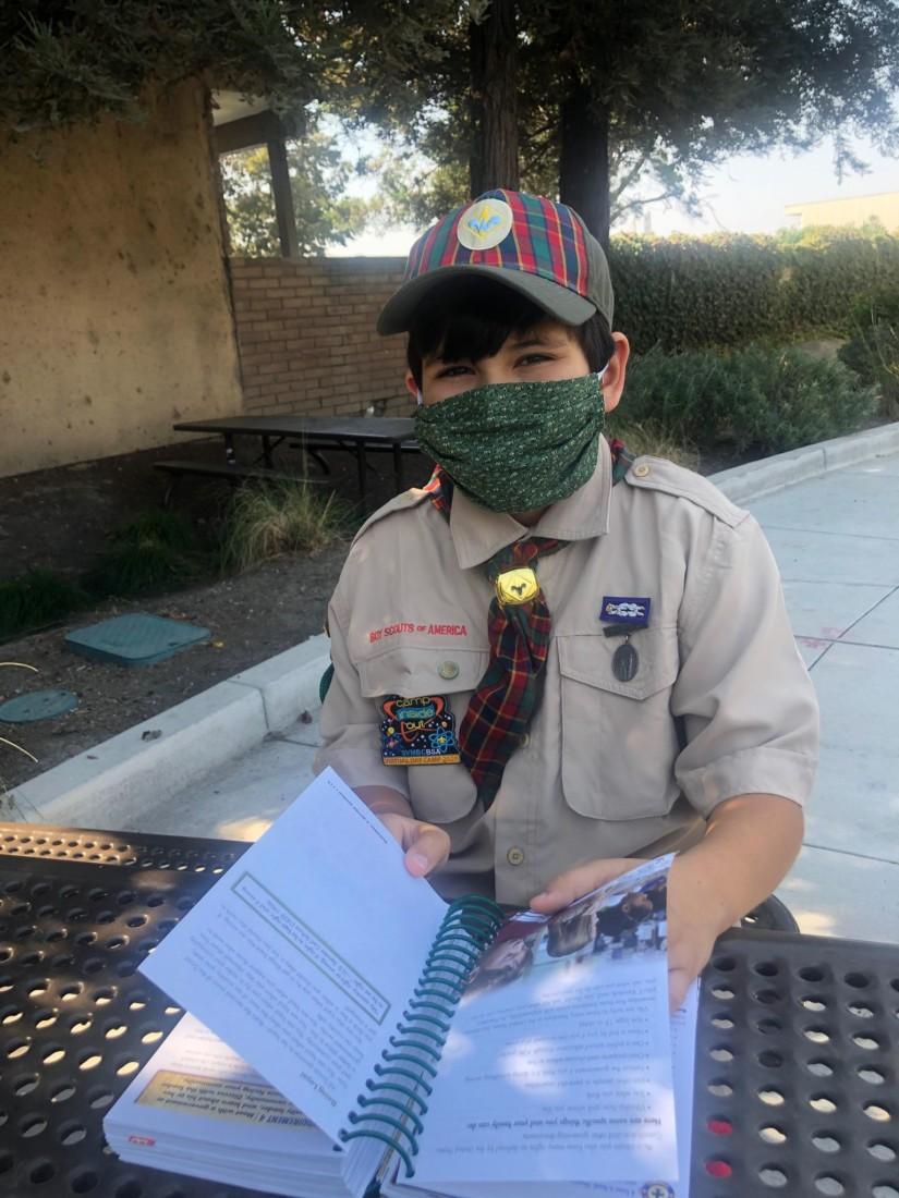 Local scout Julian Cervantes. Photo courtesy of Bryan Feci.
