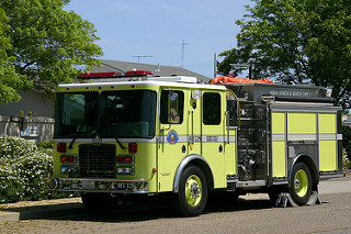 Cal OES fire engine used by local firefighters. Photo courtesy of HFD.