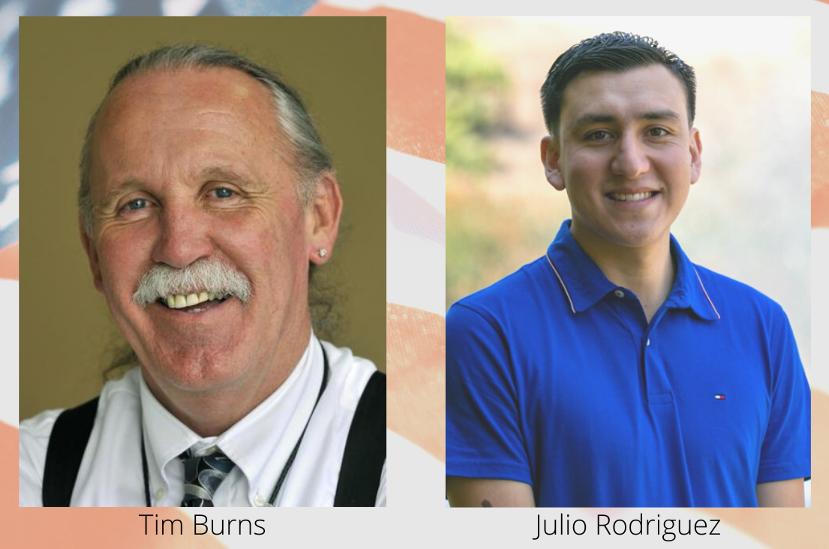 Tim Burns and Julio Rodriquez.