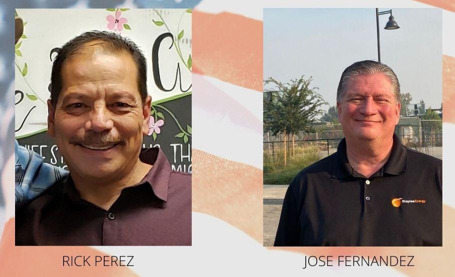 Rick Perez and Jose Fernandez.