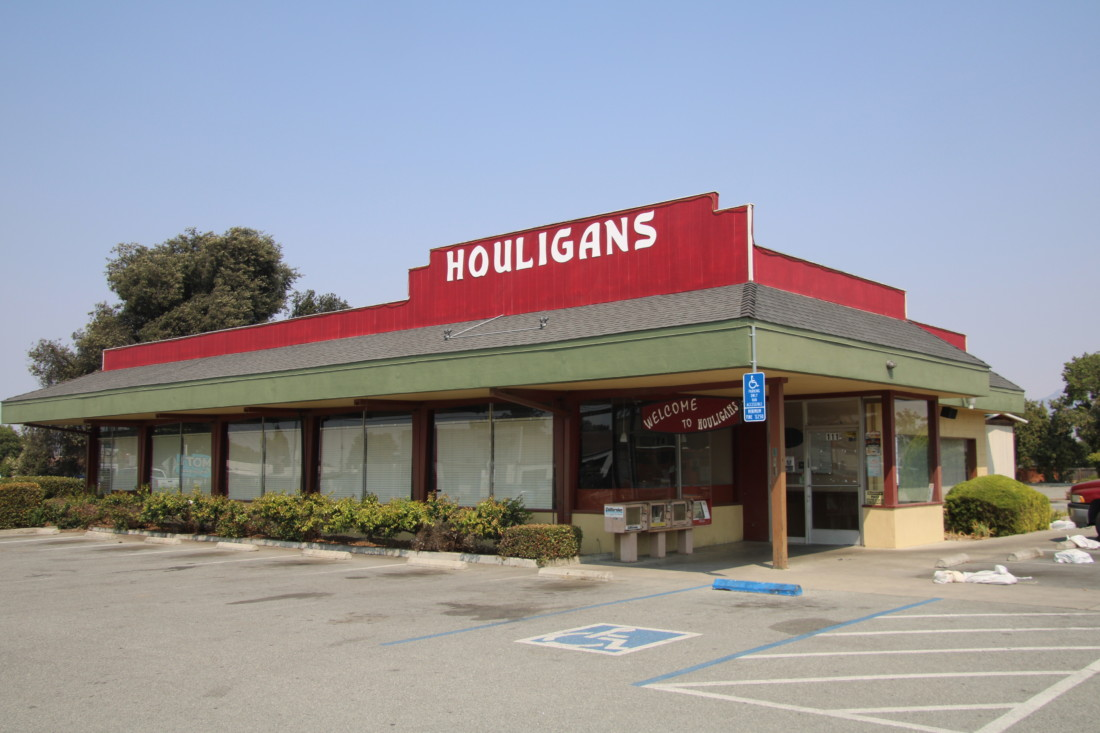 Houligans will be demolished in early 2021. Photo by John Chadwell.