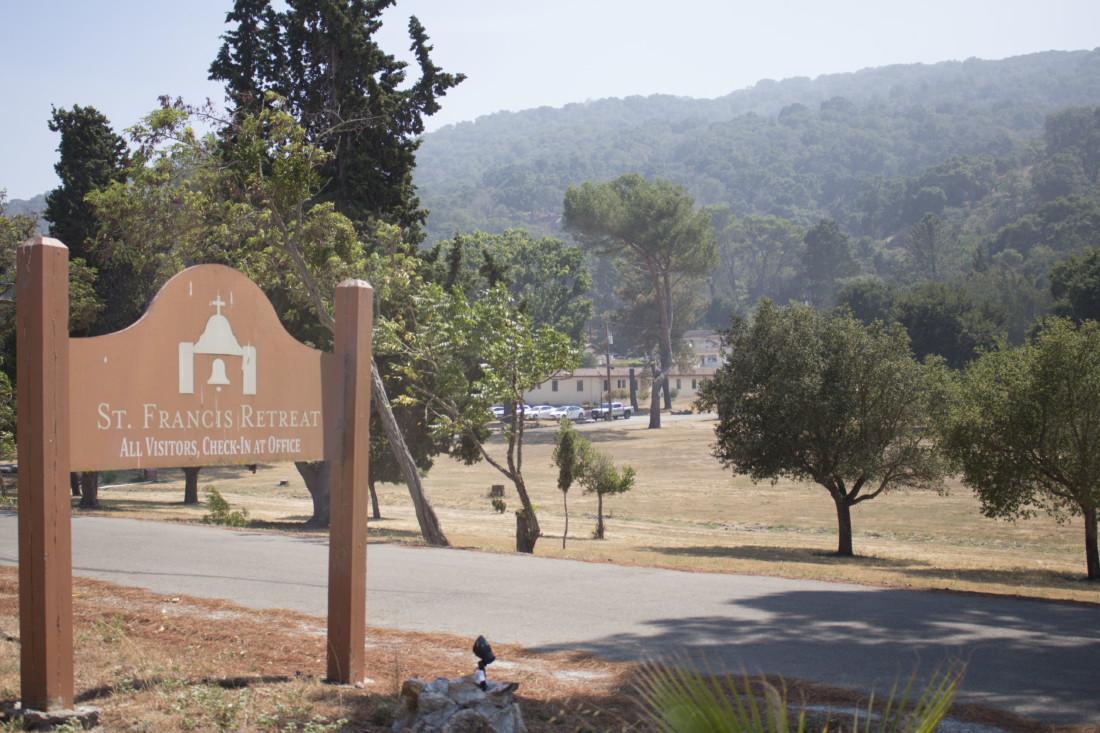 Entrance to St. Francis Retreat. Photo by Noe Magaña.