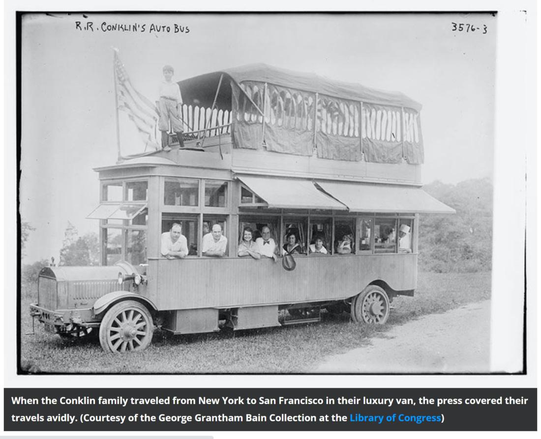 R.R. Conkin's Auto Bus
