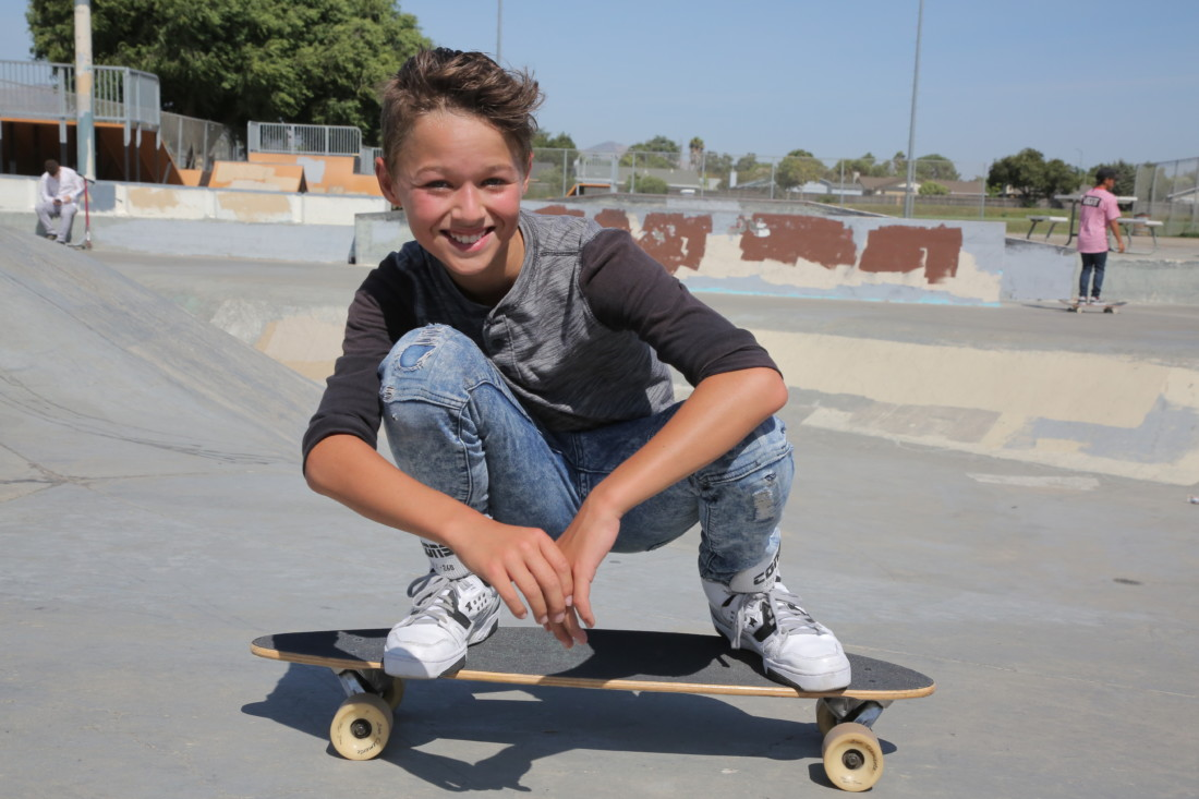 "Ivar Den Breejen said ""The park has amazing ramps and is an excellent place to skate."" Photo by Robert Eliason."