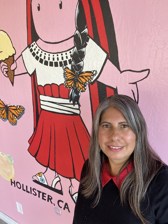 Ana Ramos-Aguilera, owner of La Michoacana. Photo courtesy of Ana Ramos-Aguilera.