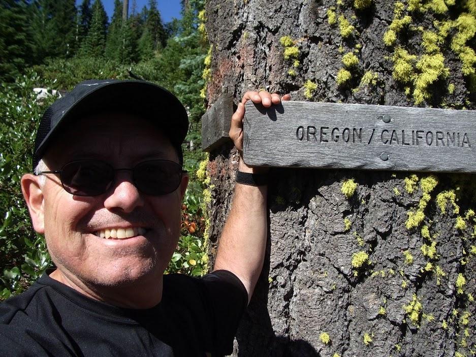 Oregon/California border. Photo courtesy of Jim Ostdick.