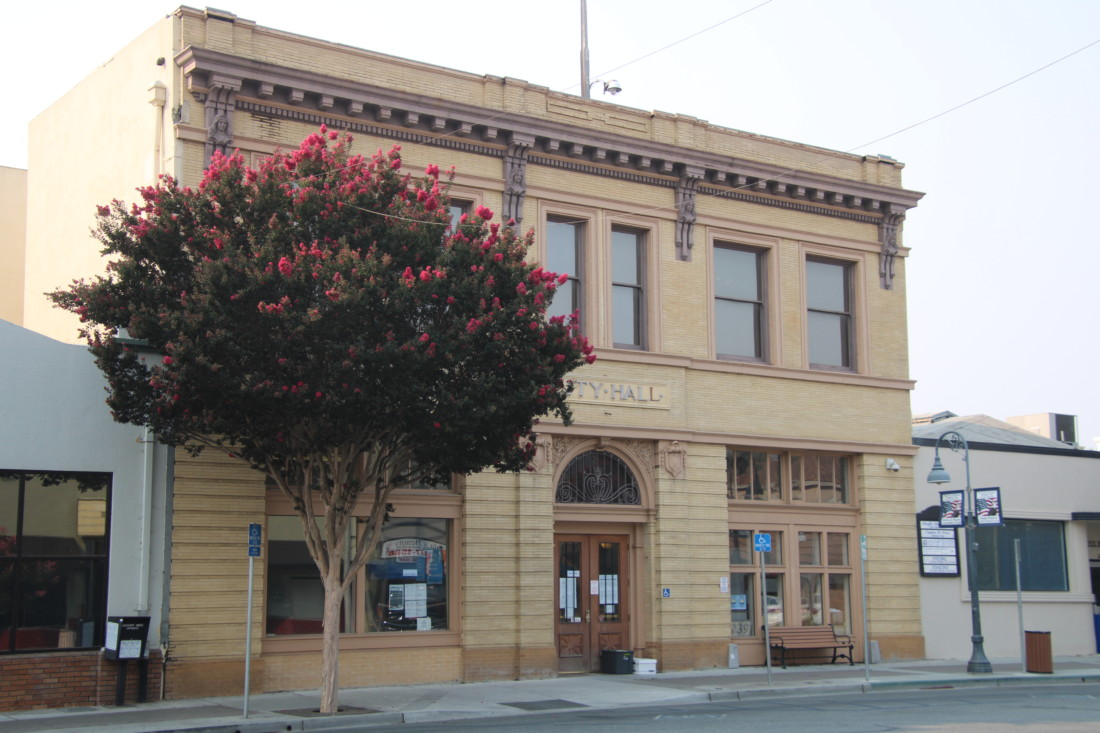 The old court house building is now home to the city's planning department. It has been retrofitted to withstand an earthquake of magnitude 7 or greater. Photo by John Chadwell.
