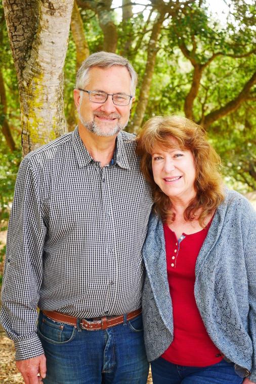 Glenn Church and Kathryn McKenzie. Photo courtesy of the authors