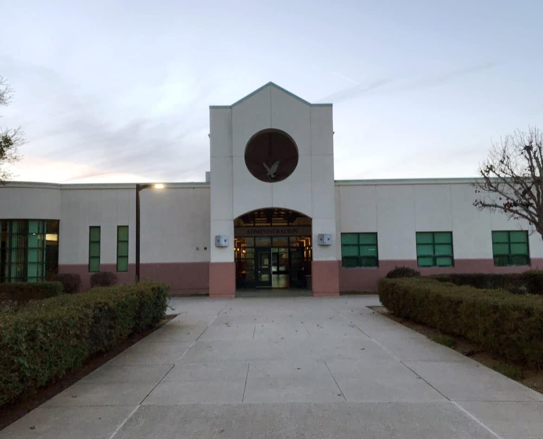 Anzar High School. Photo courtesy of Janet Watson.