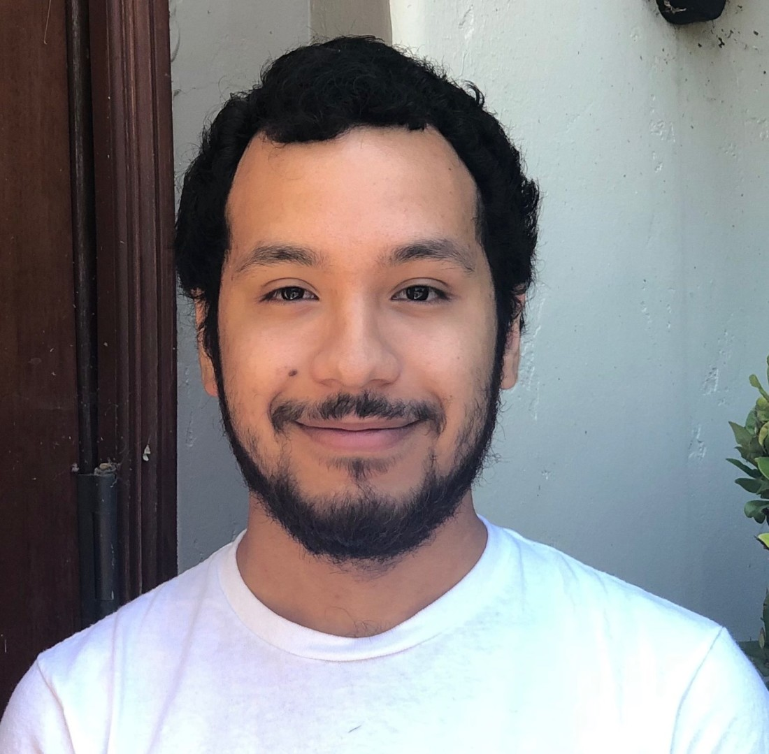 Computer engineer Francisco Romero joined BenitoLink as an intern, completed college and stayed on to maintain the website. BenitoLink photo.