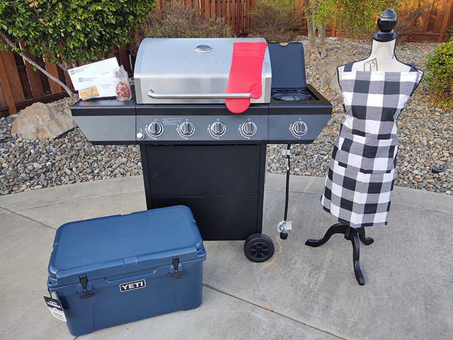 Gavilan Chapter Kinship Center is auctioning off a 'BBQ in style' package. Photo courtesy of Kathleen Sheridan.
