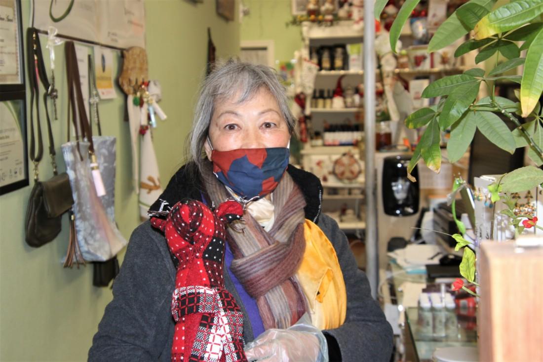 Katherine Szeto, owner of San Benito Bene. Photo by John Chadwell.