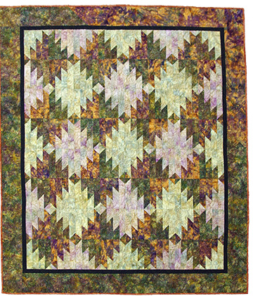 Historical Society is auctioning off a quilt made by Sharlene Van Rooy. Photo courtesy of Kathleen Sheridan.