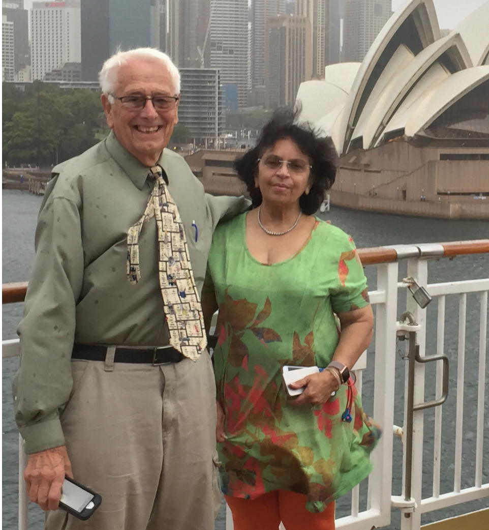 George Ball and Parveen Sharma, M.D.
