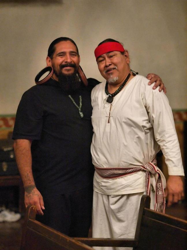 Noe Montoya and Emanuel Rocha. Photo by Robert Eliason