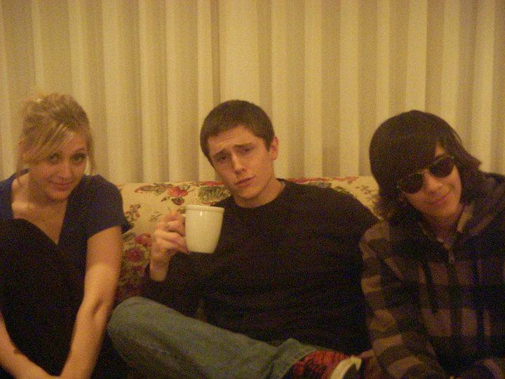 Julianna Miller, Kelvin Shalmy and Zack Freitas. Photo courtesy of Zack Freitas.
