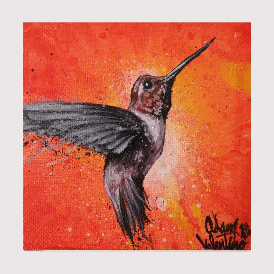Adam Valentino—Hummingbird. Courtesy of SBC Arts Council.