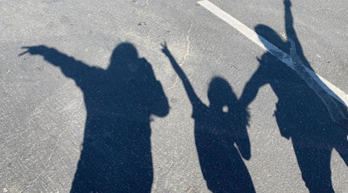 An advocate and her two CASA youth having fun at the park. Photo courtesy of CASA.