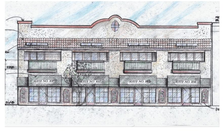 Matthew Sanchez said he hopes to begin rebuilding by next summer. He enlisted local architect and Hollister Planning Commissioner David Huboi to draw up the design. Design courtesy of David Huboi.