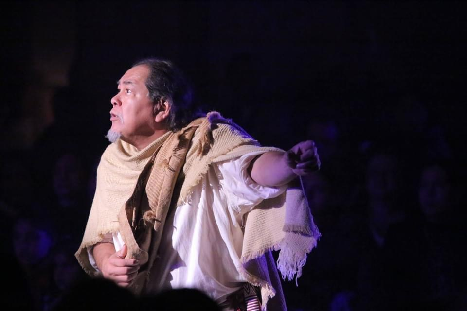 Noe Montoya as Juan Diego. Photo by Robert Eliason.