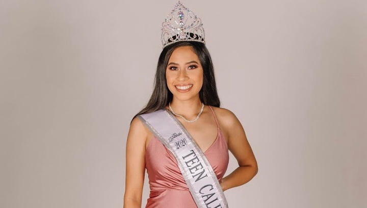 Miss Teen California Petite Cassandra Dominguez. Photo courtesy of Cassandra Dominguez.