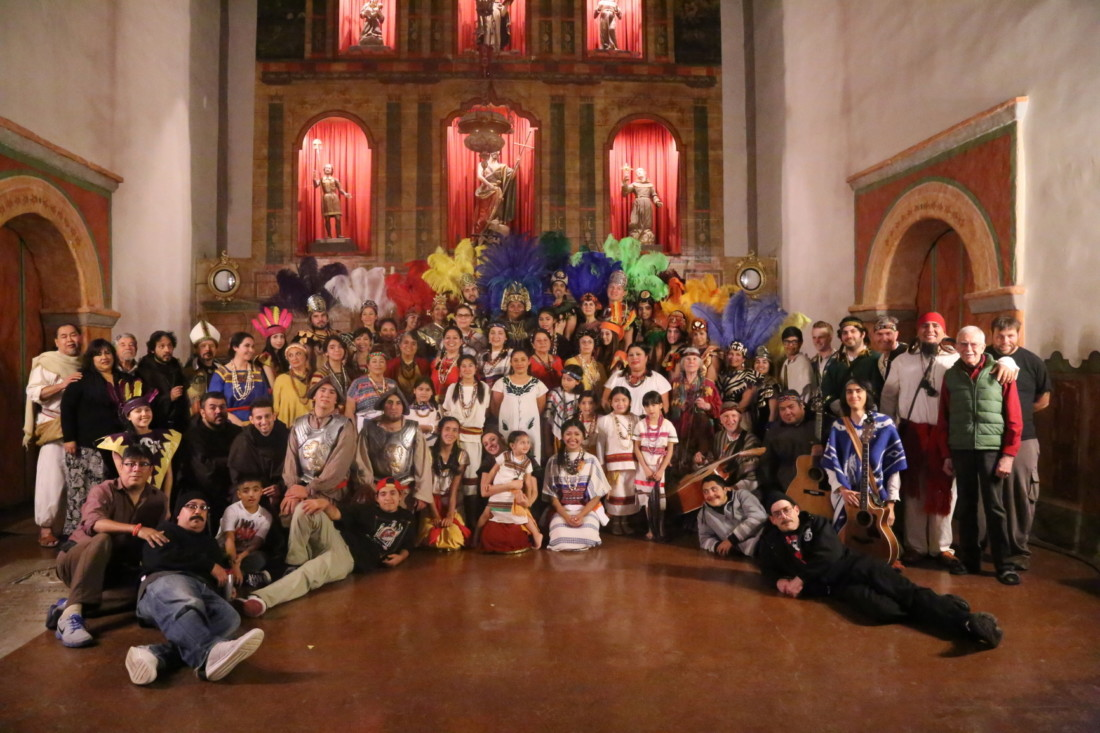 The cast and crew in 2014. Photo by Robert Eliason.