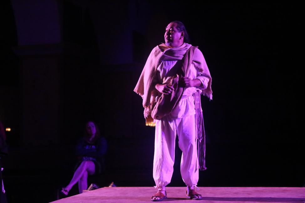 Noe Montoya as Juan Diego. Photo by Robert Eliason.