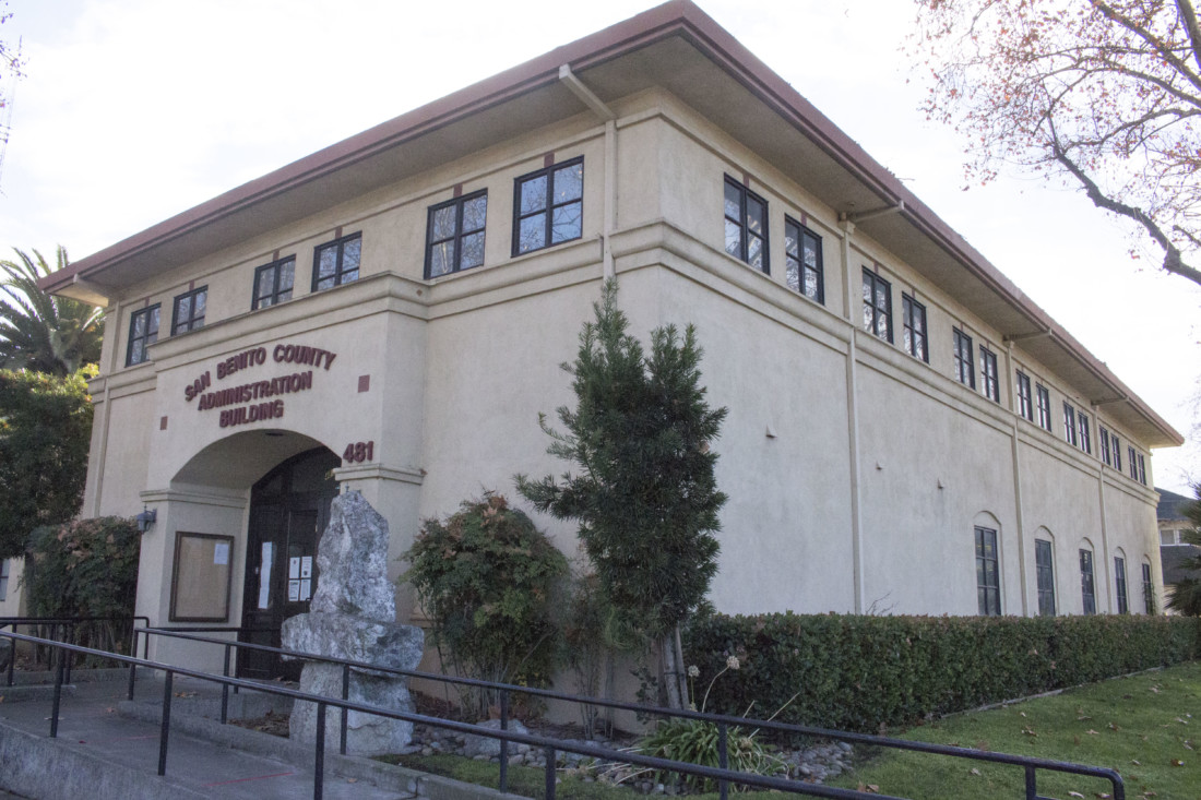 San Benito County Administration Building. Photo by Noe Magaña.