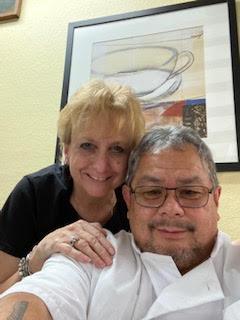 Frank and Wendy Halayay. Photo courtesy of Wendy Halayay.