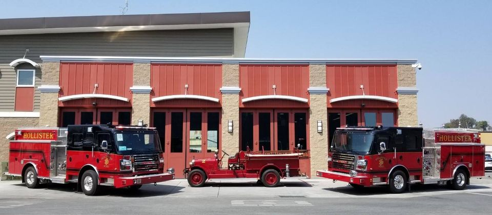 Hollister Fire Department station one on Fifth Street. Photo courtesy of HFD.