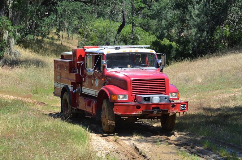 Offroad fire vehicle. Photo courtesy of HFD.