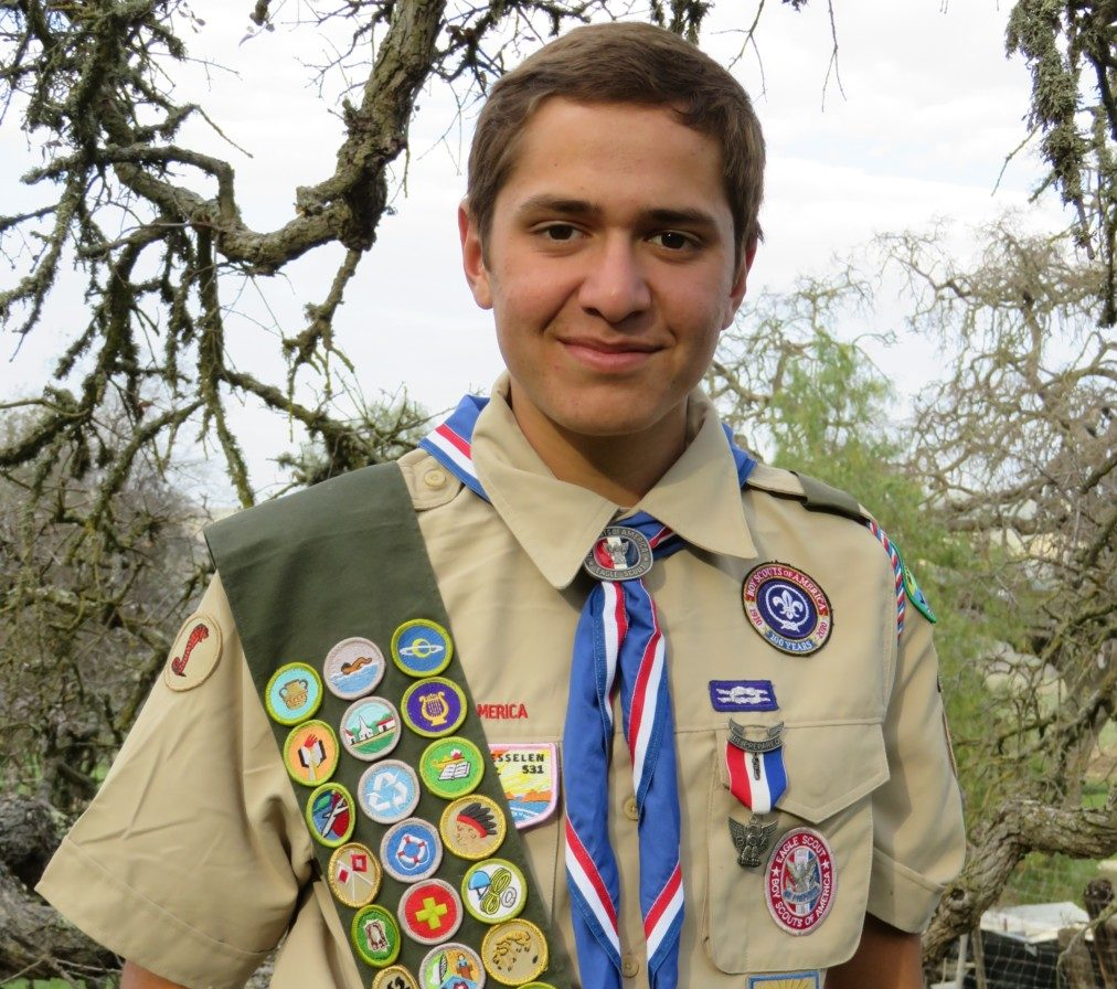 Matthew Gastello said being an Eagle Scout and playing three sports in high school helped him be selected for West Point. Photo courtesy of Matthew Gastello.