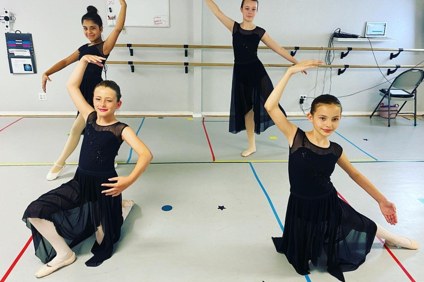 SBC Arts Council COVID Art Relief Grantee Flying Colors Dance and Fitness. Photo courtesy of SBC Arts Council.