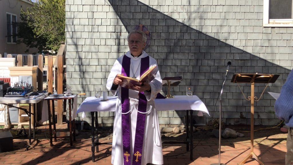 Father Ken Wratten of St. Luke's Episcopal Church. Courtesy of Ken Wratten.