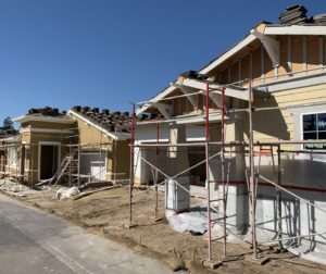 Construction at Twin Oaks Hollister. Photo by Robert Eliason.