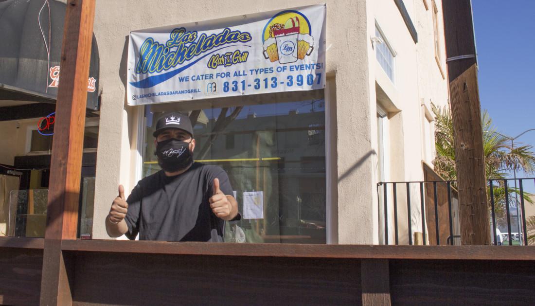 David Ramirez, owner of Las Micheladas Bar and Grill. Photo by Noe Magaña.