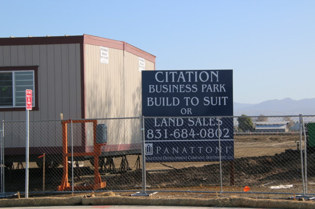 The 129,000-square-foot delivery facility will be completed by September. Photo by John Chadwell.