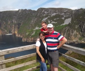 Gary Byrne and family members in Ireland. Photo courtesy of Gary Byrne.
